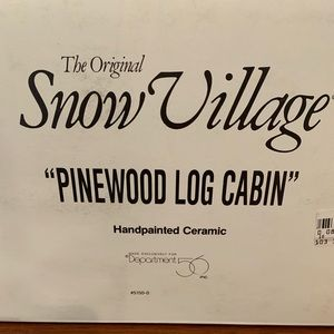 Pinewood Log Cabin